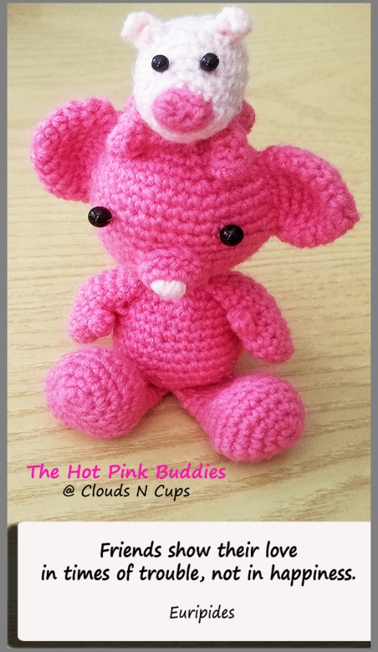 Hot Pink Buddies 7